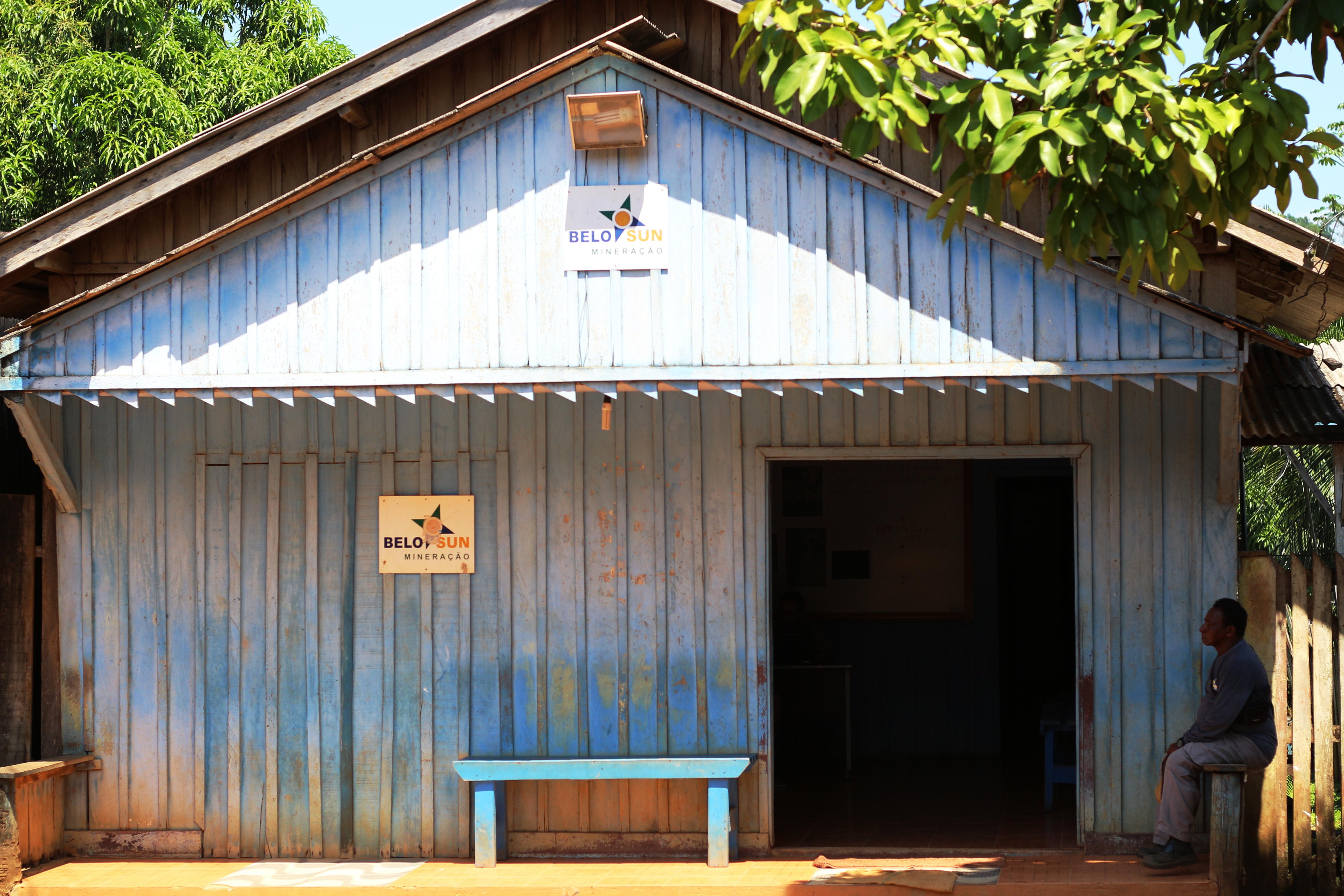 Local office of Belo Sun at Vila Ressaca, Big Bend of the Xingu River