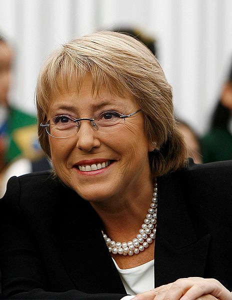 Michelle Bachelet will take office once again in March 2014