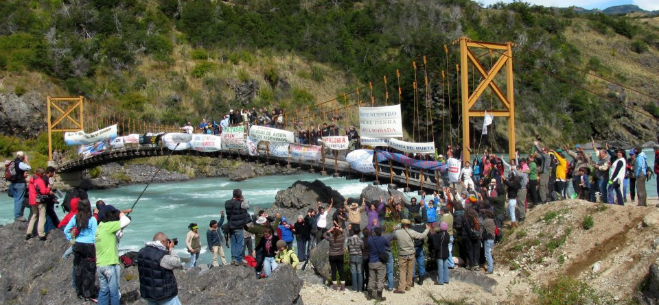 Celebrating Day of Action for Rivers on the Baker River in 2011