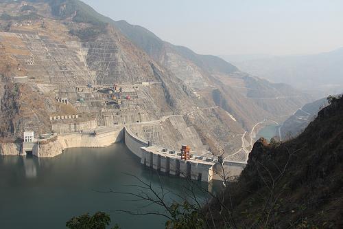 Xiaowan reservoir