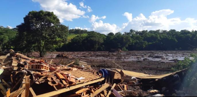 2019 dam disaster at Brumadinho, in Brazil.