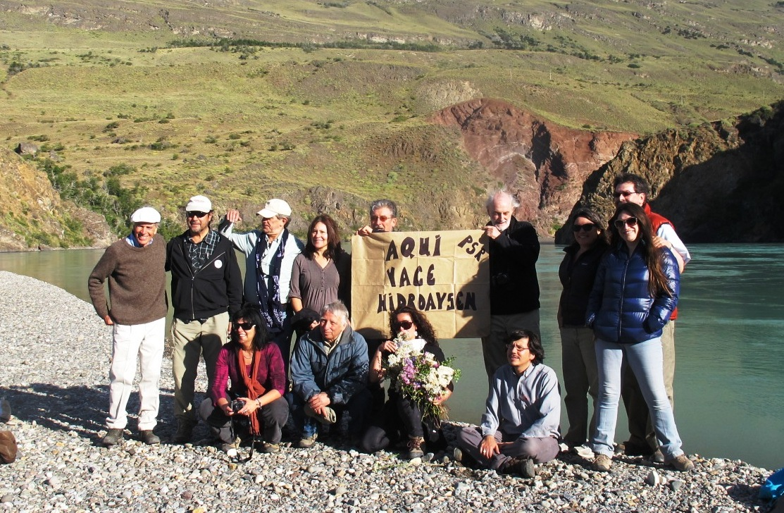 Members of the CDP in Aysén, Chile