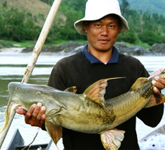 The Mekong River feeds millions