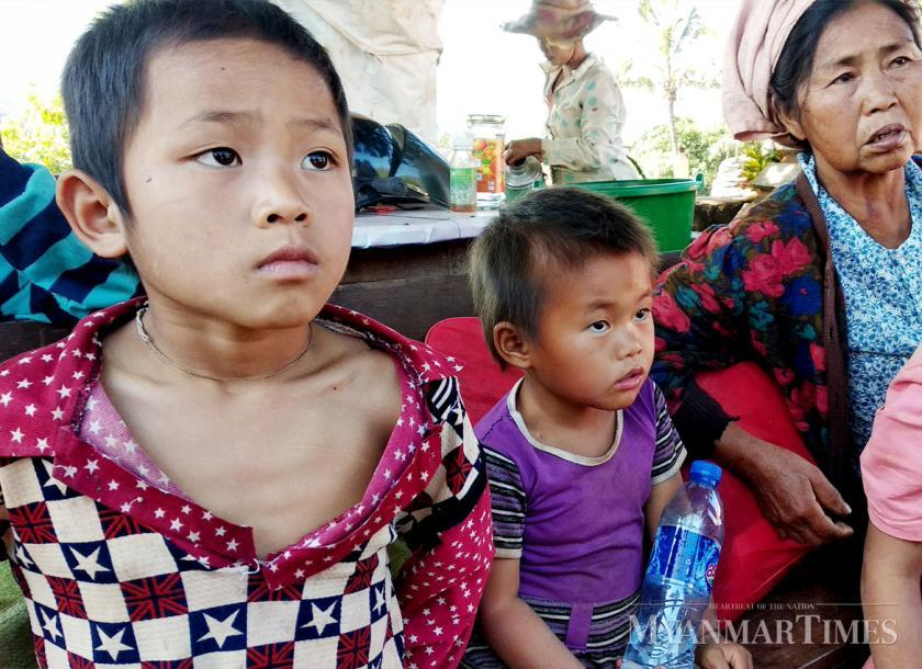 Refugees in Namtu township and Hsipaw township.